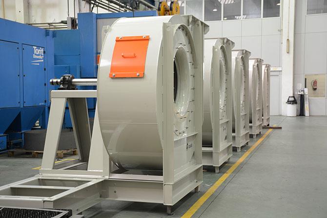 Nova gama ventiladors industrials STORM